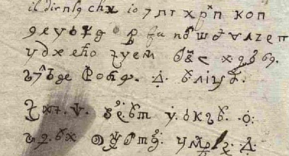 Descifran después de tres siglos carta escrita por monja poseída