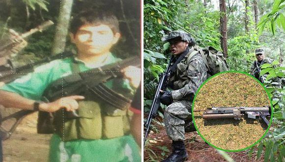 FF.AA. confirma muerte del camarada 'Basilio' en operativo antiterrorista