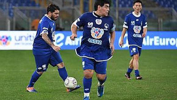 """Maradona: """"No me importa lo que haga Higuaín, siga por su camino"""""""