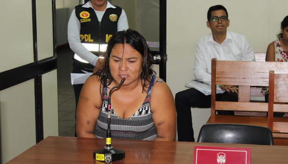 Magali Quispe cumplía prisión preventiva en el penal de mujeres de Sullana. (Foto: Poder Judicial de Piura)