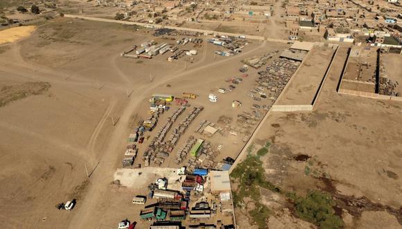Lambayeque: Ingemmet determinó que predio destinado para construcción de comisaría de José Leonardo Ortiz se ubica en zona propensa a inundación pluvial. (Foto Ingemmet)