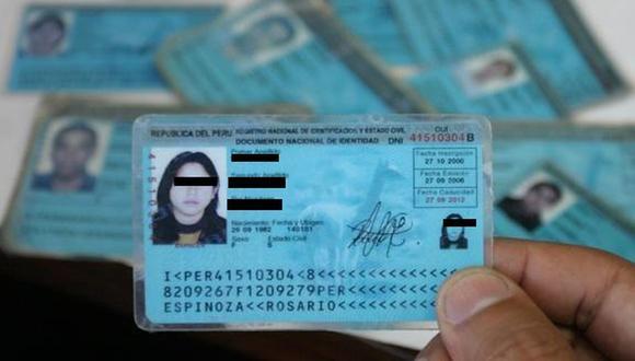 ¿Cuál es el dígito verificador de mi DNI? (Foto: Reniec)