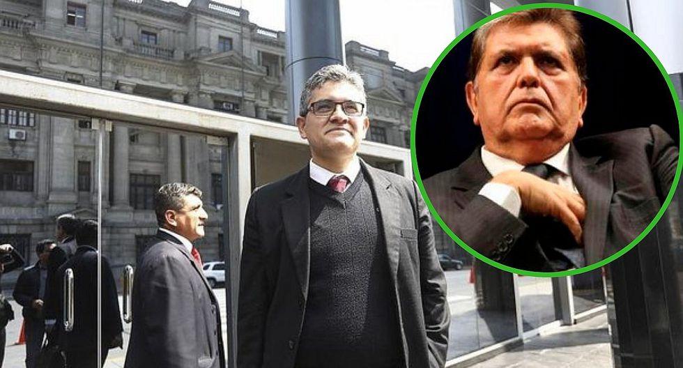 Alan García será interrogado por el fiscal Domingo Pérez este 15 de noviembre