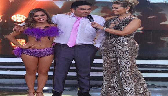 Erick Elera 'no suelta' a su bailarina de El Gran Show