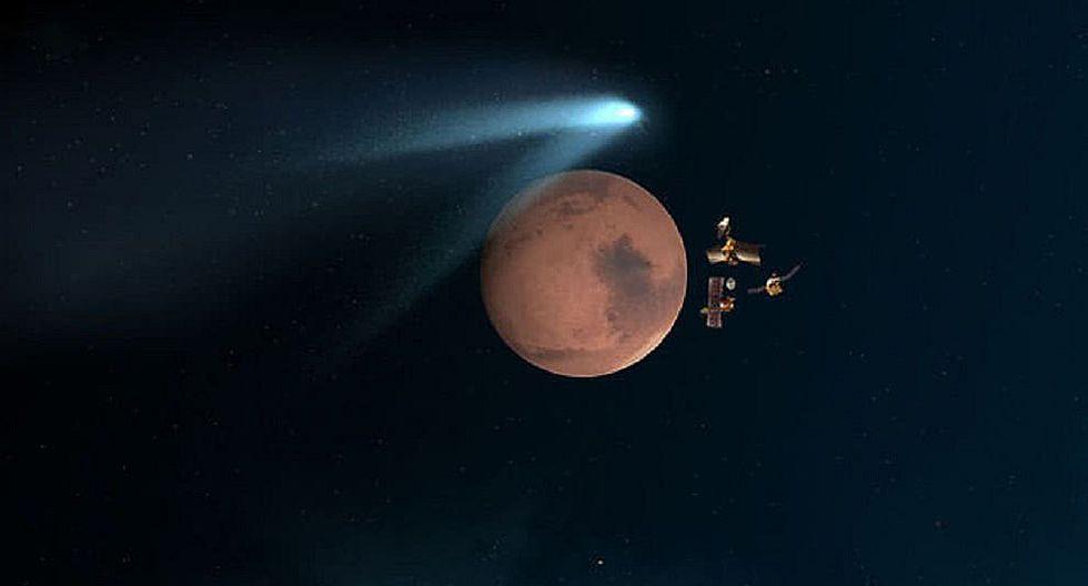 """Módulo de la NASA registra el primer """"aparente"""" sismo detectado en Marte"""