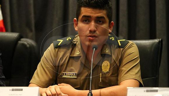 Confirman hábeas corpus para PNP Elvis Miranda Rojas y continuará en libertad