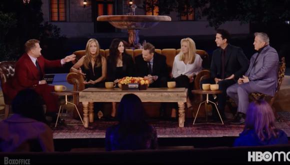 """""""Friends: The Reunion"""" se podrá ver en Estados Unidos gracias a HBO Max, pero a Latinoamérica demorará un poco más en llegar. (Foto: Captura de video)"""