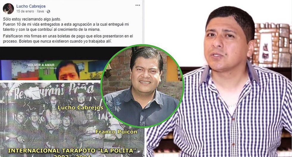 Grupo 5: Elmer Yaipén desenmascara a su exmúsico Lucho Cabrejos con contundentes pruebas (VIDEO)