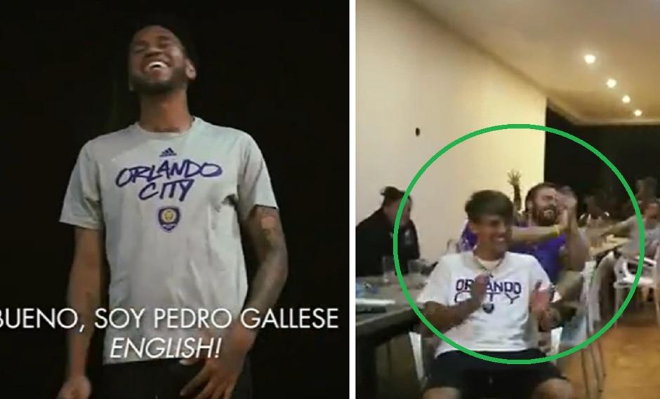 La presentación de Pedro Gallese en inglés que provocó las risas de sus compañeros. (Video: Orlando City) (13-02-2020)