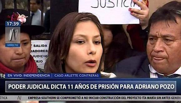 """Arlette Contreras inconforme con sentencia: """"esto ha arruinado mi vida"""""""