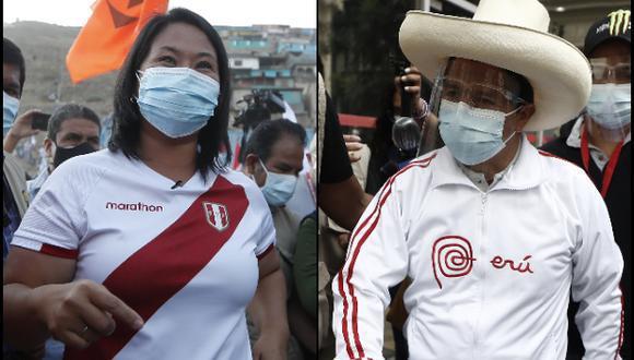 El debate presidencial del JNE entre Pedro Castillo y Keiko Fujimori será en Arequipa. (Foto: Archivo GEC)