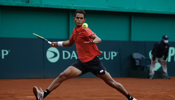 Juan Pablo Varillas clasificó a la final del ATP Challenger Tour de Ambato. (Foto: GEC)