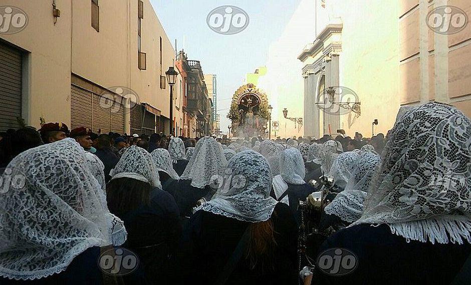 Semana Santa: este es el recorrido que realiza el Señor de los Milagros (VIDEO)