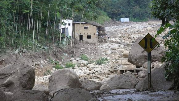 Piura: familias damnificadas por deslizamientos de tierra recibieron ayuda humanitaria (Foto: Ministerio de Vivienda)