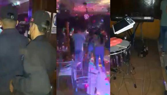 Las autoridades ingresaron sorpresivamente al clandestino establecimiento en donde encontraron a cerca de 100 personas bailando y tomando bebidas alcohólicas (Foto: MPCP)