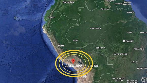 Arequipa: sismo de magnitud 4.3 sacudió Atico esta madrugada