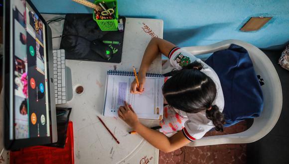 Año escolar 2021: HOY vence el plazo para solicitar matrícula de manera virtual  (EFE/David Guzmán).