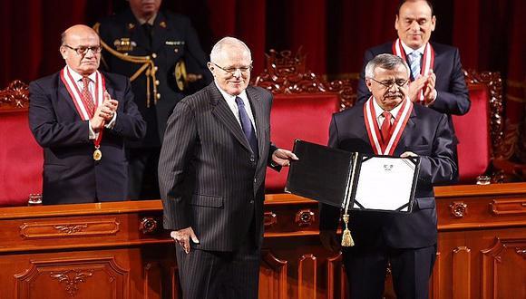 PPK recibe su credencial como presidente electo del Perú