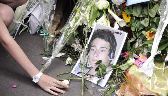 Los cuerpos de Benoît, Anne, Thomas, Arthur y de su madre, Agnès, fueron encontrados envueltos en sábanas y con dos disparos en sus cabezas. (Foto: AFP)