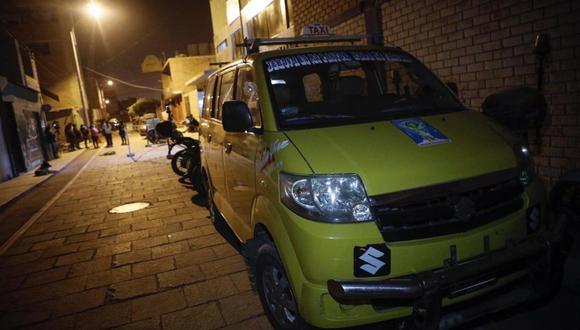 El extranjero y su vehículo fueron trasladados a la comisaría de Carabayllo. (Foto: GEC)