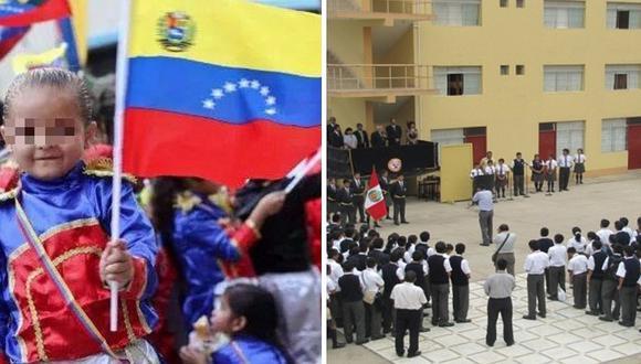Colegio de Lima hace tocar himno de Venezuela en el primer día de clases