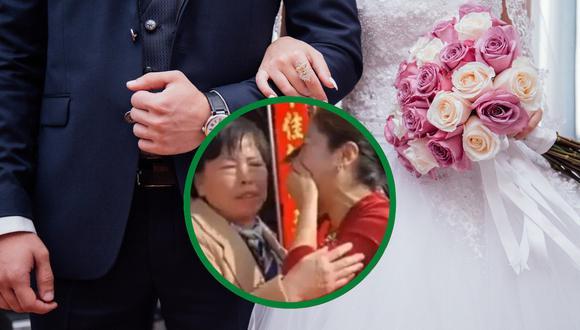 Una situación de telenovela se vivió en una boda en China que acabó convirtiéndose en una verdadera reunión familiar. | Crédito: Pixabay / Referencial / Oriental News