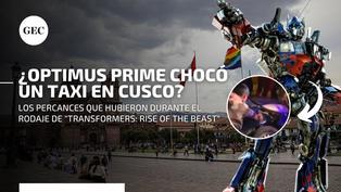 Transformers en Cusco: mira los percances que tuvo Optimus Prime durante las grabaciones