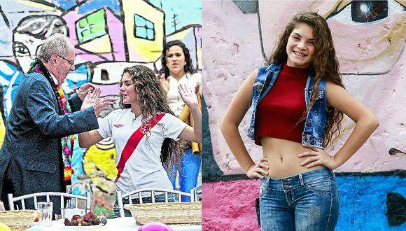 PPK: Conoce más sobre la joven que le dio suerte en las elecciones [FOTOS Y VIDEO]
