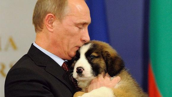 Vladimir Putin quiere que lo ayuden a elegir el nombre de su nueva mascota