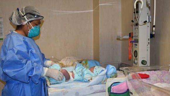 Ica: Desde el inicio de la cuarentena se han registrado 592 nacimientos en el Hospital Santa María del Socorro (Foto: HSMS)