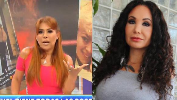 Magaly Medina afirmó que no respeta a Janet Barboza. (Captura Magaly TV/ GEC)