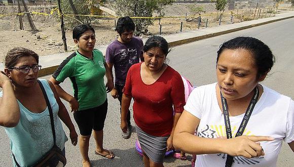 El Agustino: vecinos de Talavera denuncian que donaciones son mal distribuidas