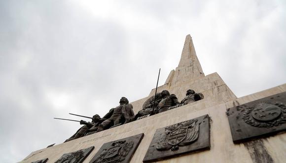 Ultiman detalles para restauración del Obelisco de la Pampa de Ayacucho para mayor turismo (Foto: Gore Ayacucho).