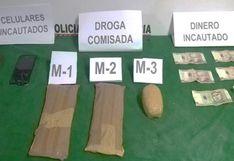 Huánuco: dos personas son intervenidas por llevar droga adherida en sus cuerpos