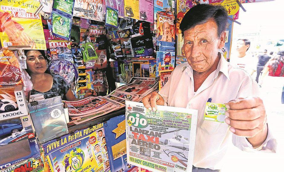 Al mercado con Ojo: lectores corren por su raspa y gana