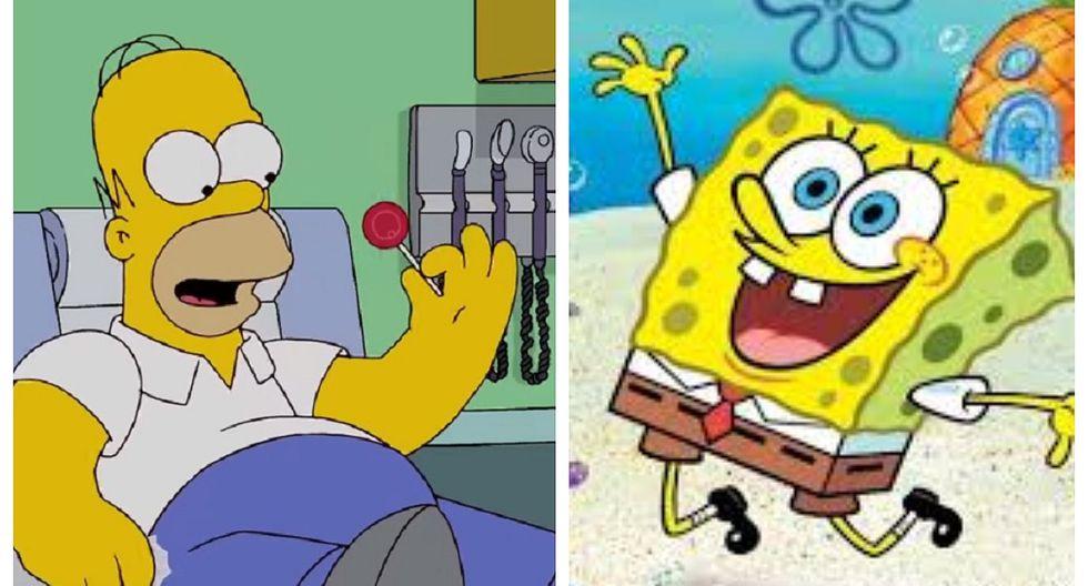 Revelan cómo serían Homero Simpson y Bob Esponja en la vida real (FOTOS)