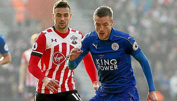 Premier League: Southampton golea 3-0 a campeón Leicester que podría bajar