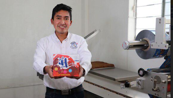 Julio Garay: ayacuchano creador de galletas anti anemia lanza nuevo producto que refuerza el sistema inmunológico
