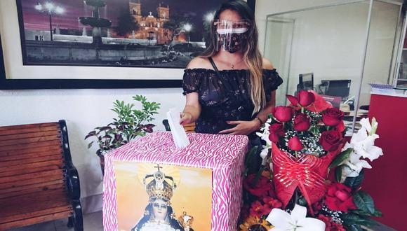 Arequipa: colocan ánfora para que devotos de la Virgen de Chapi dejen sus peticiones (Foto: Municipalidad Provincial Arequipa)