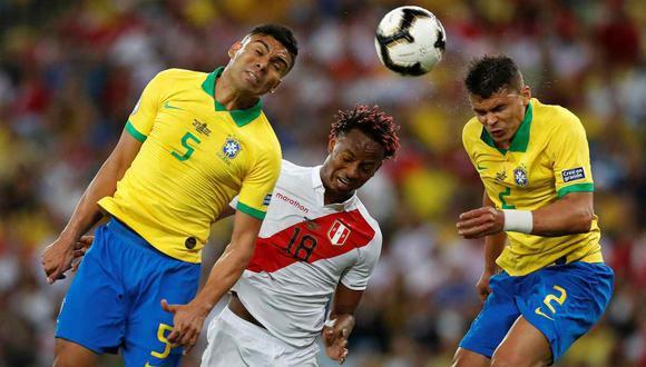 Perú vs. Brasil se miden en la segunda jornada de las Eliminatorias Qatar 2022. (Foto: EFE)