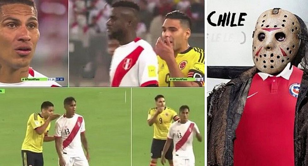 """Chilenos recuerdan a Perú y Colombia y crean el hash tag: """"La maldición de Chile"""" (FOTOS)"""
