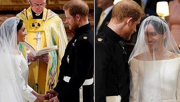 La frase más romántica que le dijo el príncipe Harry a Meghan Markle en plena boda (VIDEO)