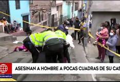 El Agustino: matan a comerciante de Gamarra cuando iba encontrarse con sus hijas   VIDEO