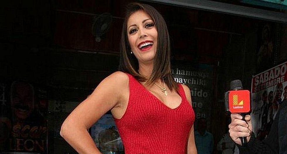 Karla Tarazona muestra su ironía con el sueldo de 'Chabelita'