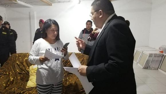 Alcaldesa electa en Piura cae por estar en presunta organización criminal (FOTOS)