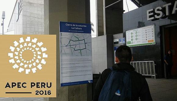 APEC: sepa qué ocurrirá con el Metro de Lima y otras medidas tomadas (VIDEO)