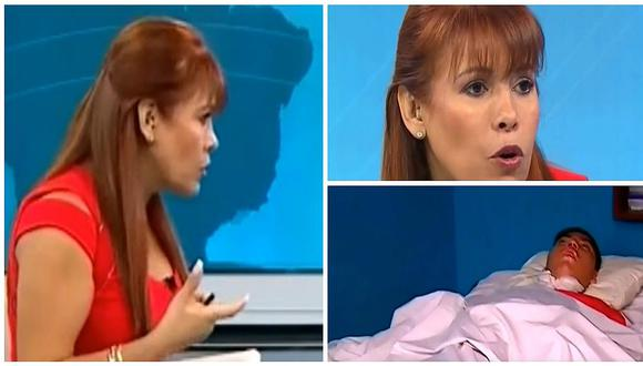 Magaly Medina enfureció en vivo con doctora de EsSalud (VIDEO)