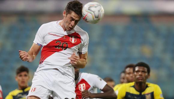 Santiago Ormeño volvió a ser convocado por Perú. (Foto: Agencias)