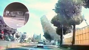 Corea del Sur: Edificio se desploma sobre bus y mata a nueve personas