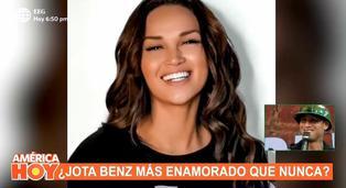 """Jota Benz sobre Angie Arizaga: """"Ella no es una simple chica, siempre quiere superarse"""""""